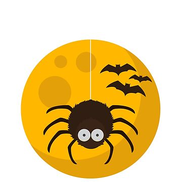 Halloween vibes midnight spider bat by Shirt-Expert