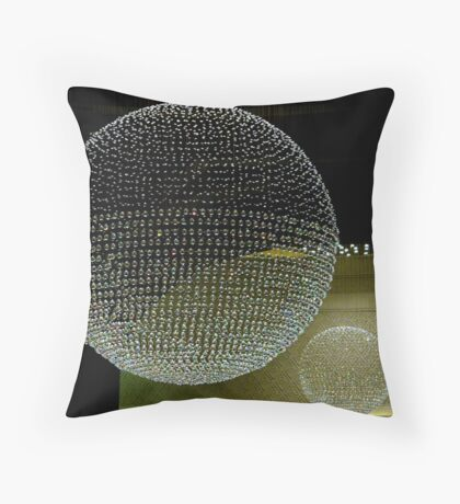 Crystal Chandeliers Throw Pillow