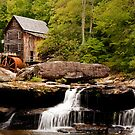 Glade Creek Grist Mill - Southern West Virginia by Scott Denny