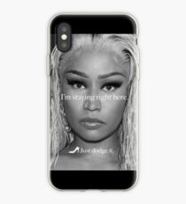 I'm standing right here iPhone Case