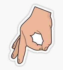 Das Kreishandspiel Sticker