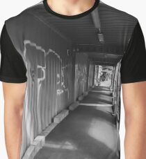 Construction Walkway Graphic T-Shirt