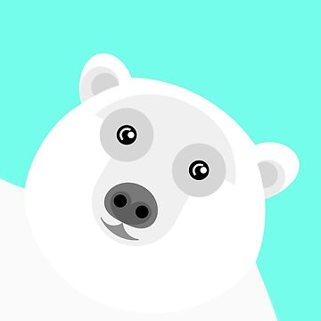 Polar Bear Portrait by AdamRegester