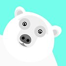Polar Bear Portrait by Adam Regester