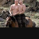 PUTIN AND TRUMP BEST FRIENDS ON A HORSE by Motion45