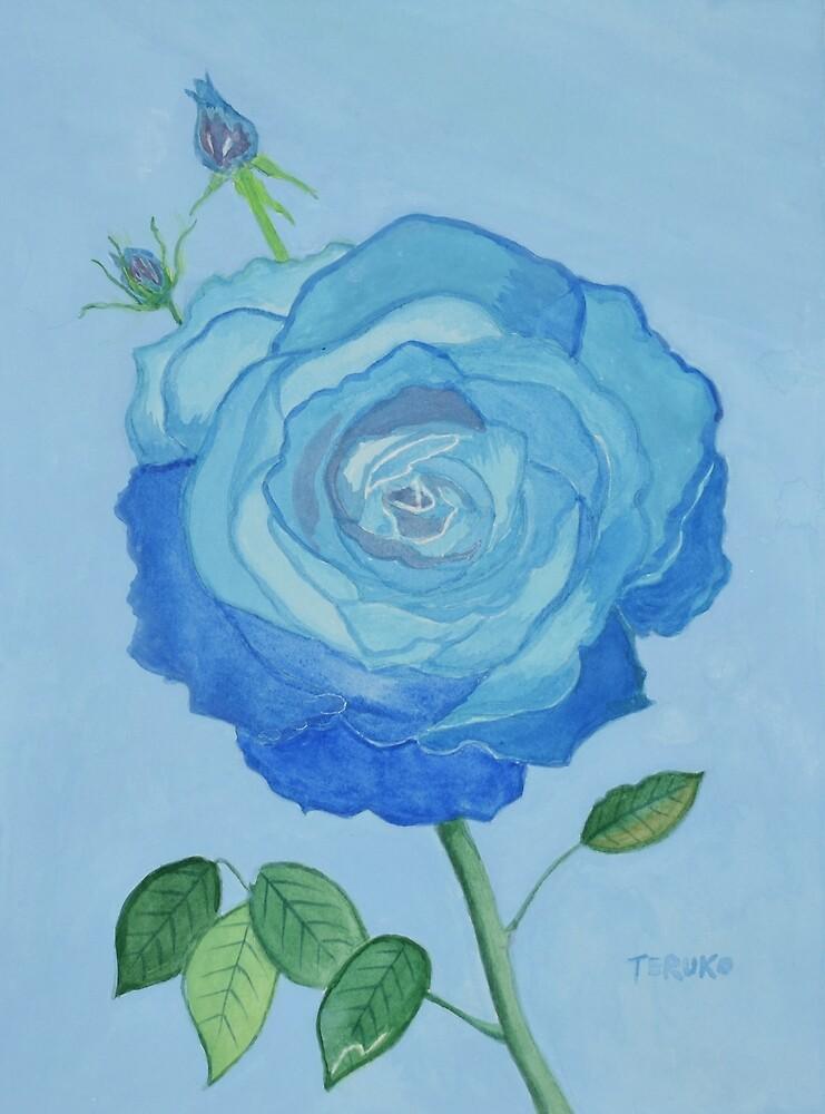 Peace (Blue Rose) by BlueCanna