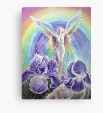 Lámina metálica Iris, la diosa del arco iris