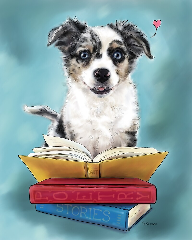 Puppy Loves Books by JC Little