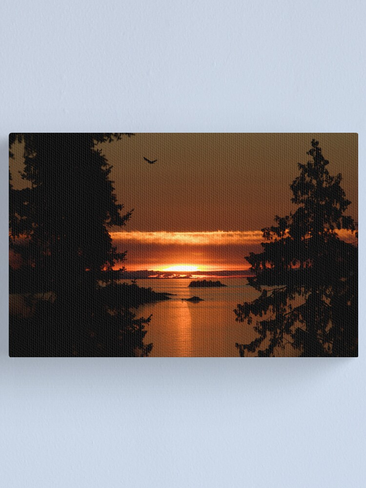 Alternate view of Winchelsea Islands Sunset Canvas Print