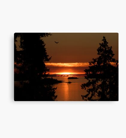 Winchelsea Islands Sunset Canvas Print