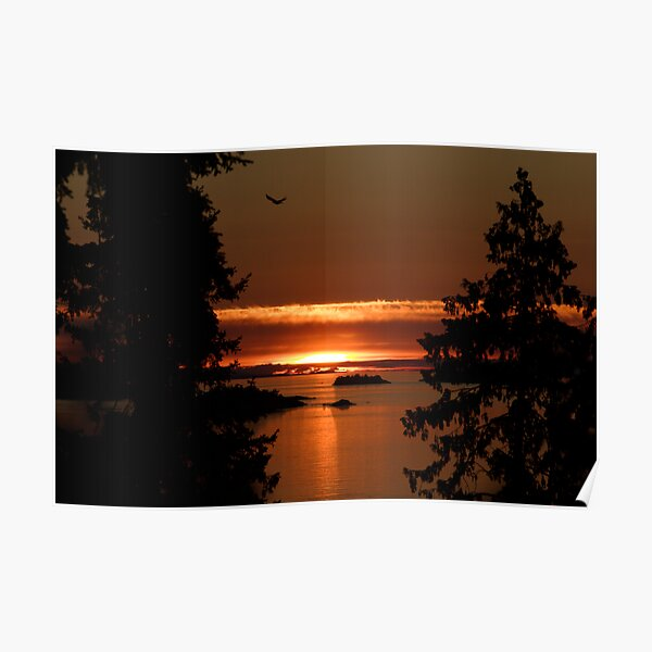 Winchelsea Islands Sunset Poster