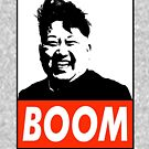 KIM JONG UN BOOM FUNNY SHIRT by Motion45