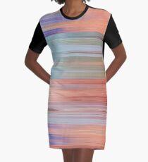 Pixel Sorting 47 Graphic T-Shirt Dress