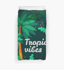 Tropical Vibes Duvet Cover