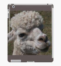 A White Alpaca iPad Case/Skin