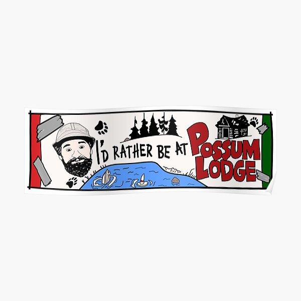 Possum Lodge. Poster