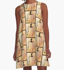 Man I Love this Pumpkin A-Line Dress