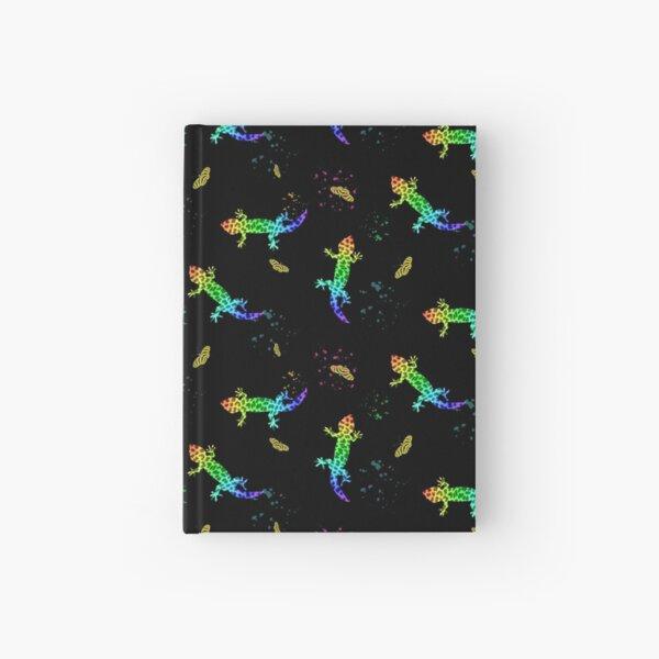 Rainbow Salamanders Hardcover Journal