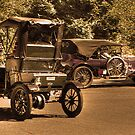 old cars by Jeannie Peters