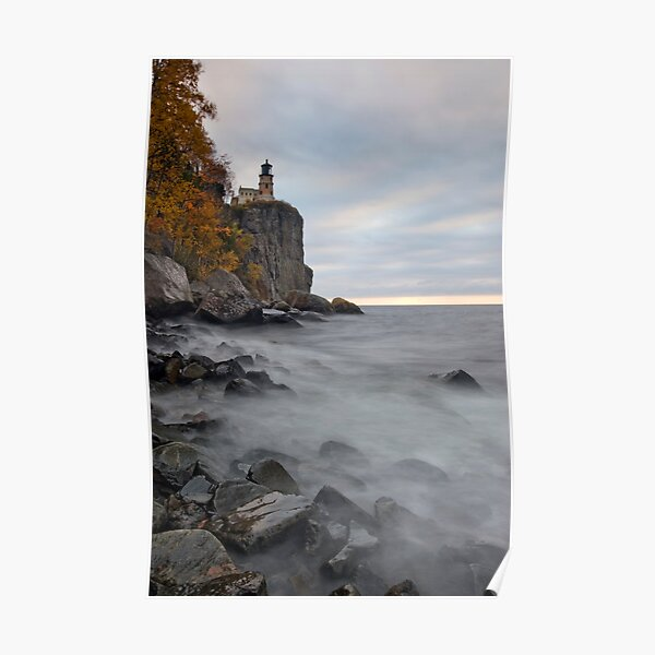 Split Rock Lighthouse. Poster