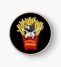 Frenchie Fries Clock