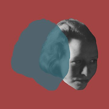 Edna St. Vincent Millay - red blue pop by savantdesigns