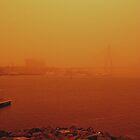Sydney dust storm by K.D. Hemi