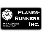 PlanesRunners Inc Text to Right by Christopher Myers