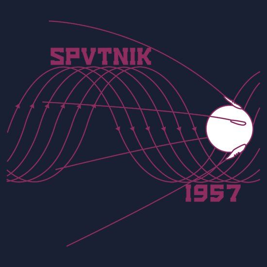 TShirtGifter presents: Sputnik 1