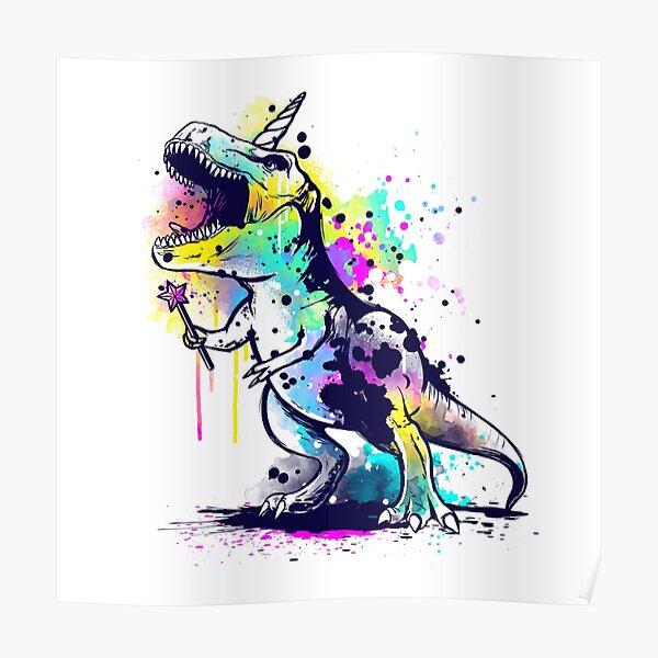 Unicornosaurus rex Poster