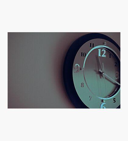 time Photographic Print