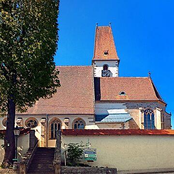 The village church of Hirschbach by patrickjobst