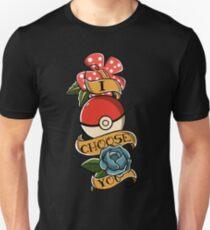I choose you - Pokeball Rockabilly Tattoo Unisex T-Shirt
