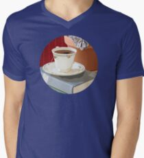 Teacup and Childhood Classics Men's V-Neck T-Shirt