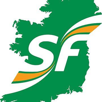 Sinn Féin Symbol by a11ce