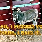 YEAH, I MISSED YOU, Photo, for greeting cards and postcards by Bob Hall©