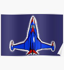 The Phoenix from Battle of the Planets aka Gatchaman Team aka G Force Poster