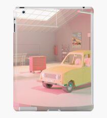 Yellow Automobile iPad Case/Skin