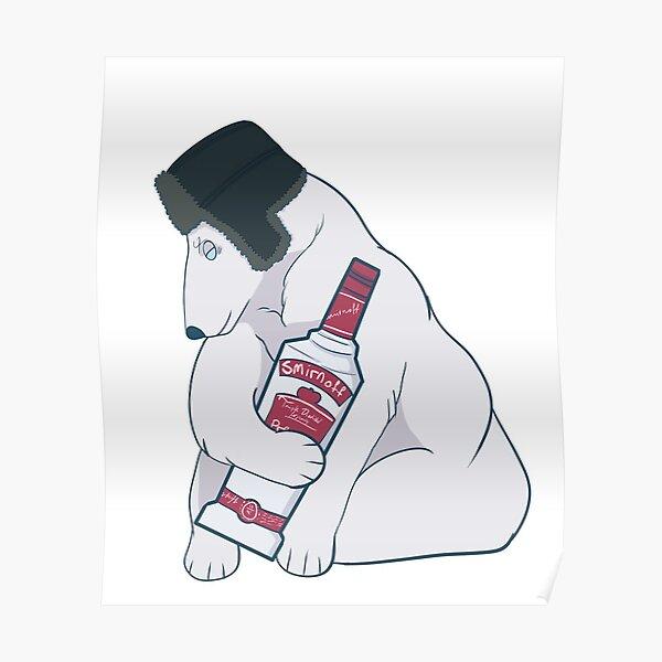 Wodka Bär Poster