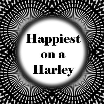 Happiest on a Harley PV by DBBArt