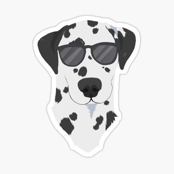 Cool Dalmatian Sticker