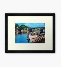 Nottingham reflections - Trent Bridge II Framed Print