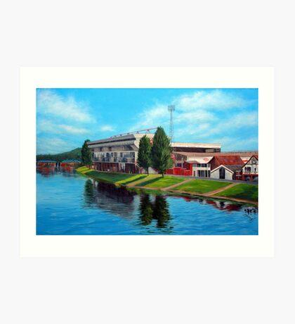 Nottingham reflections - Trent Bridge IIII Art Print