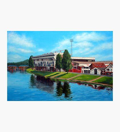 Nottingham reflections - Trent Bridge IIII Photographic Print