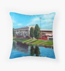 Nottingham reflections - Trent Bridge IIII Throw Pillow