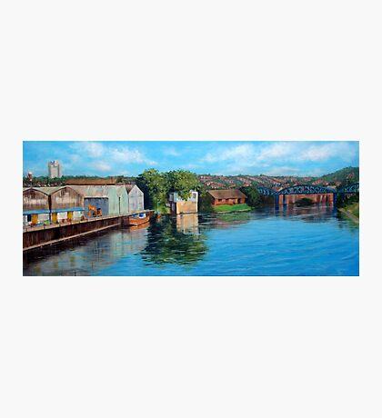 Nottingham reflections - Trent Bridge III Photographic Print