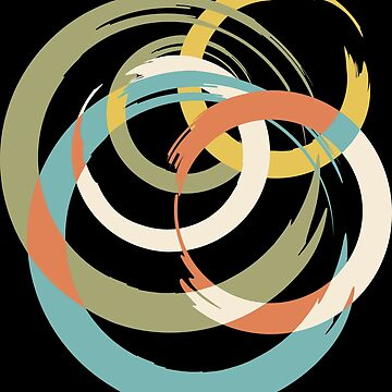 Impressionist Colorful Pattern by jazzworldquest