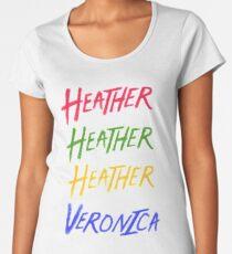 Beautiful   Heathers Women's Premium T-Shirt