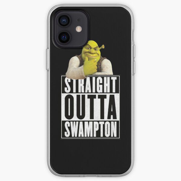 Shrek - Straight Outta Swampton iPhone Soft Case