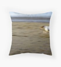 Dog & Ball Throw Pillow